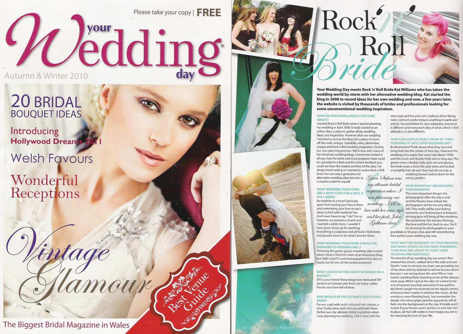 Featured your wedding day magazine united kingdom posted junglespirit Images