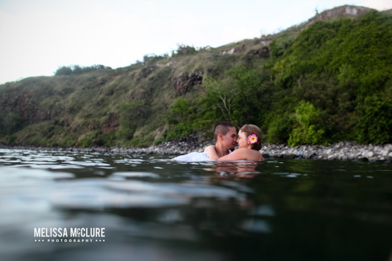 Maui trash the dress underwater session 14