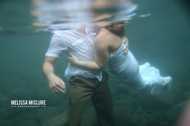 Maui trash the dress underwater session 15