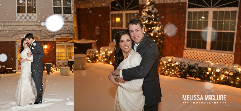 New Years Even Chicago snow wedding 18