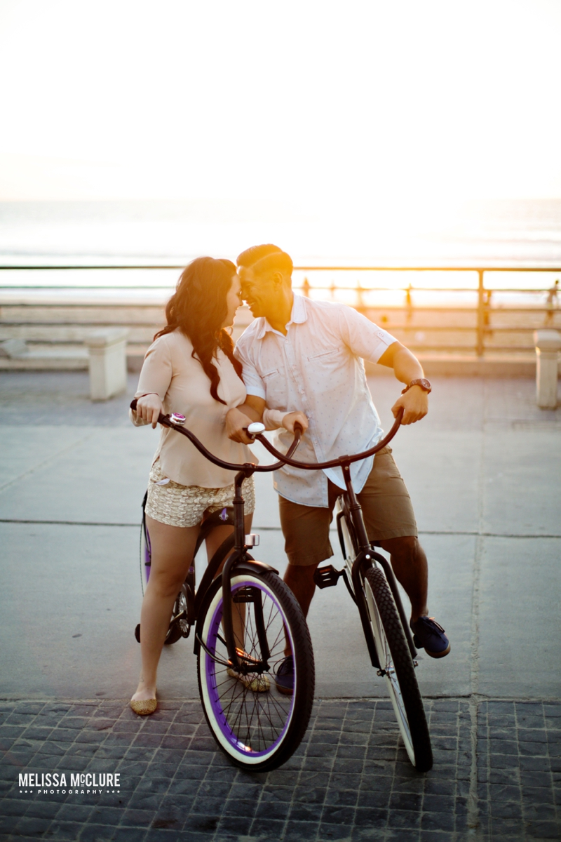 Beach Cruiser Engagement Photos 10