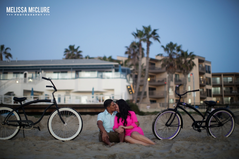 Beach Cruiser Engagement Photos 13