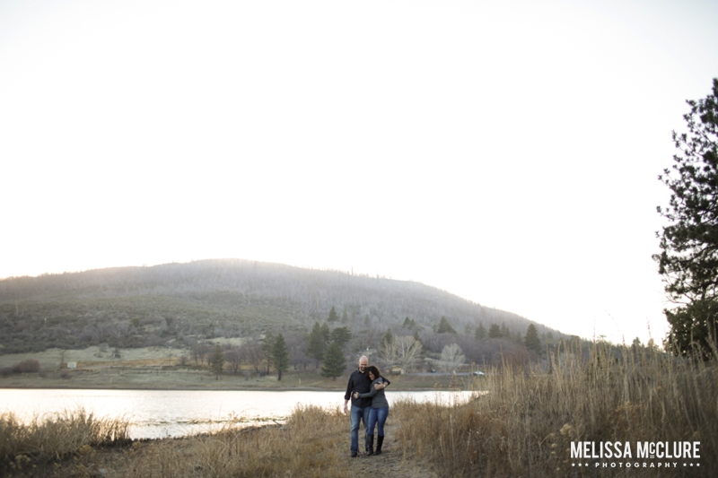 Lake Cuyamaca Julia Engagement Photos 11