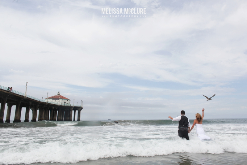 manhattan beach trash the dress photos 11