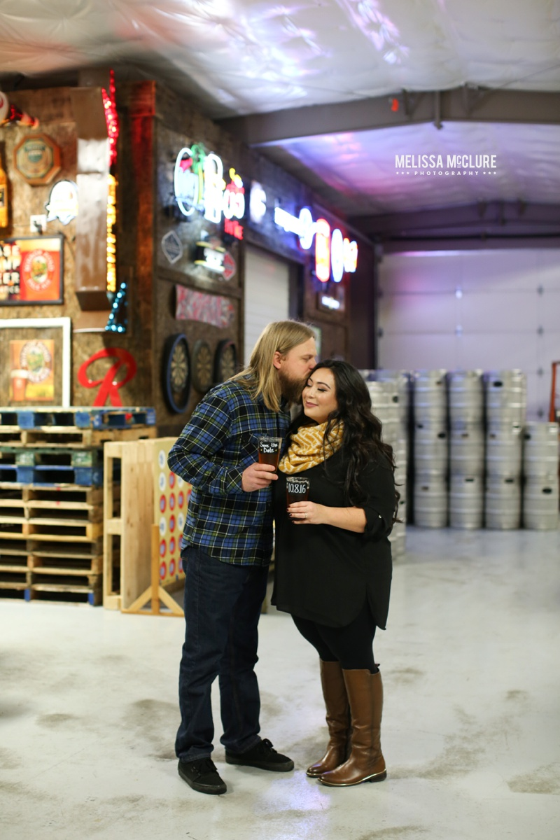 Portland brewery Engagement session 03