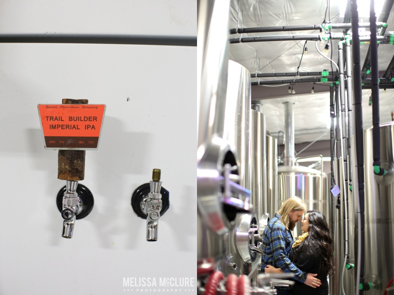 Portland brewery Engagement session 05