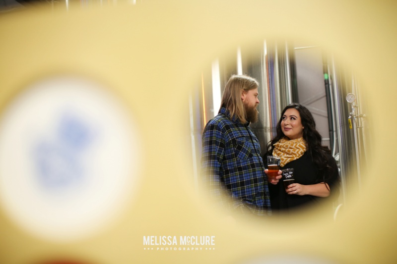 Portland brewery Engagement session 07