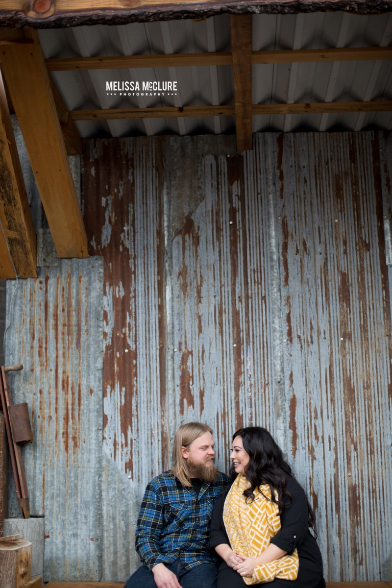Portland brewery Engagement session 09