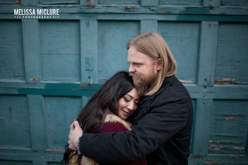 Portland brewery Engagement session 11