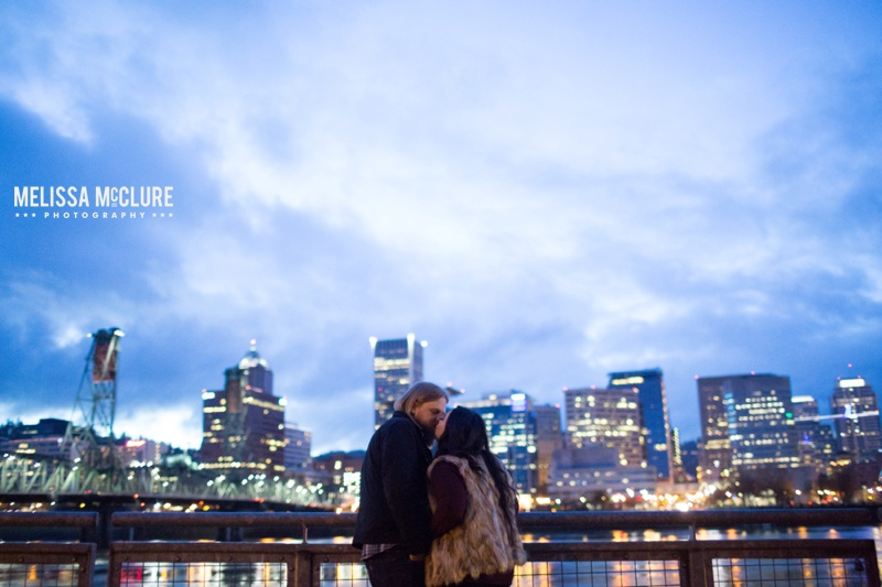 Portland brewery Engagement session 15