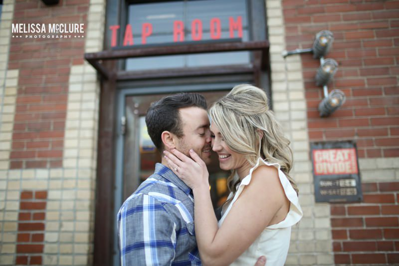 downtown denver engagement session 019